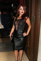 Jessica Hayes Night Out Style – Steam & Rye Club in London 1/28/2016