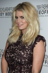 Jessica Simpson - 2016 YMA Fashion Scholarship Fund Geoffrey Beene National Scholarship Awards Dinner in New York