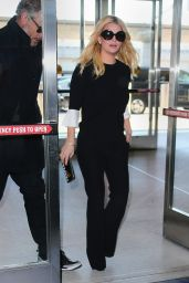Jessica Simpson at JFK Airport in New York City, January 2016