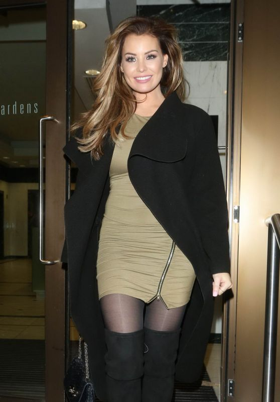 Jessica Wright Fashion – Britain's Next Top Model Launch in London, January 2016