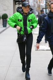 Jessie J Style - Out in New York, NY 12/31/2015