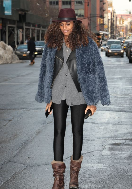 Jourdan Dunn - Out in Tribeca New York, January 2016