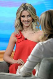 Julianne Hough Appeared on Good Morning America in New York City, January 2016