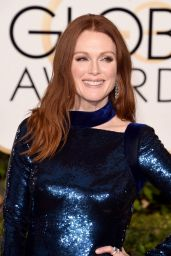 Julianne Moore - 2016 Golden Globe Awards in Beverly Hills