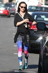 Juliette Lewis in Spandex - Out in Los Angeles 12/30/2015