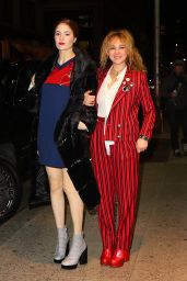 Juno Temple and Emily Tremaine - Step out Together to Attend Marc Jacob