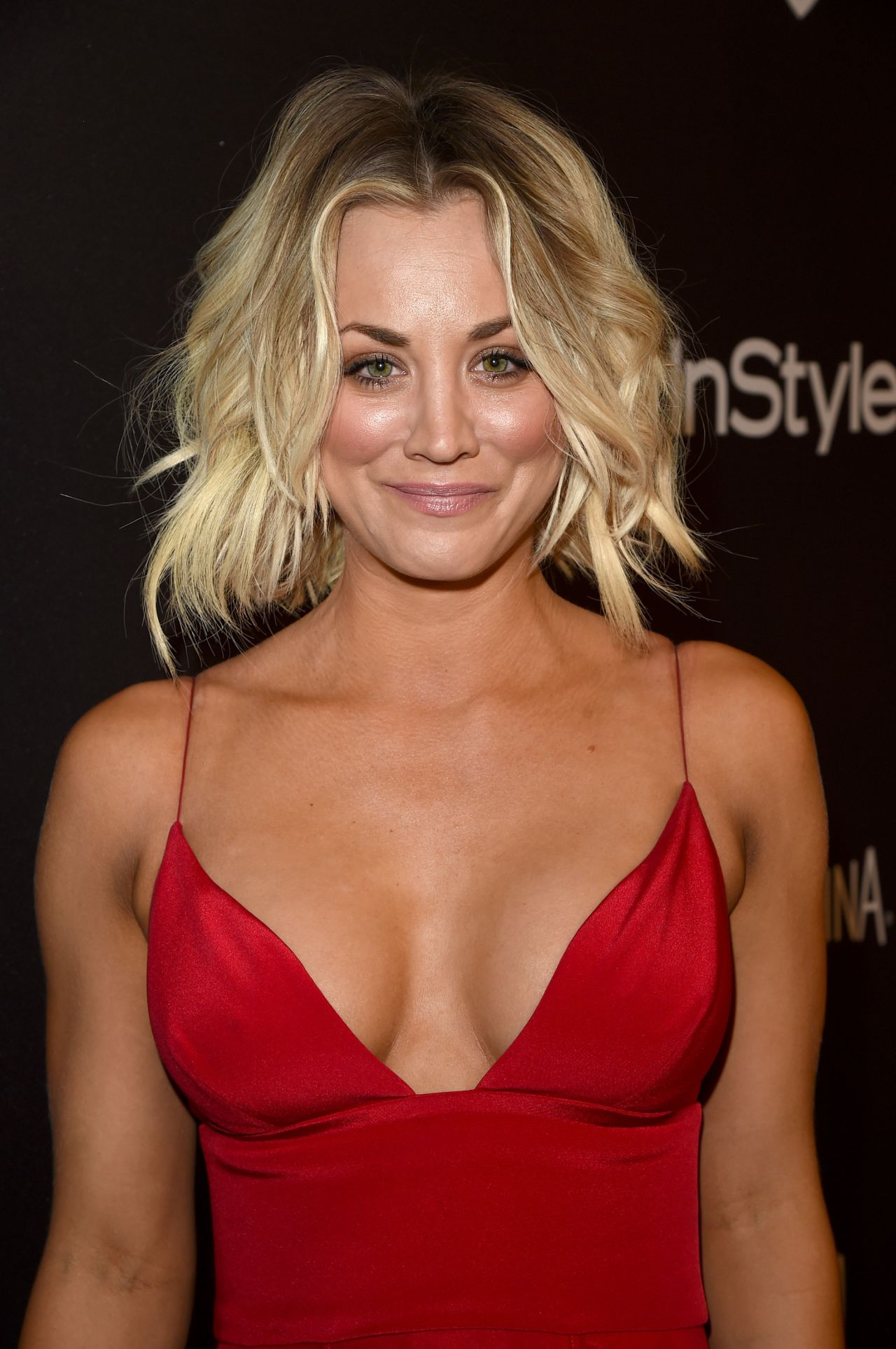 Kaley Cuoco – InStyle And Warner Bros. Golden Globe Awards 2016 Post ...