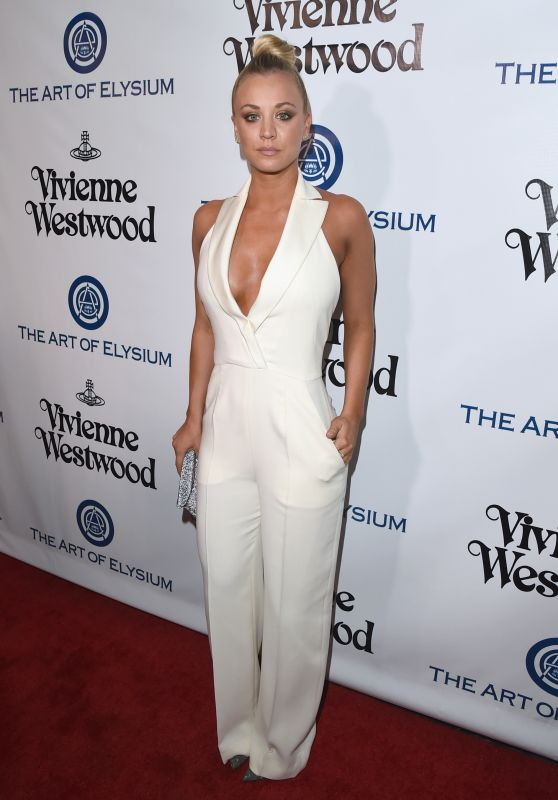 Kaley Cuoco – The Art of Elysium 2016 HEAVEN Gala in Culver City, CA