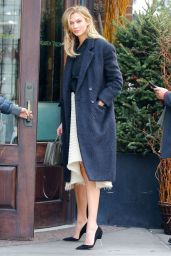 Karlie Kloss - Locanda Verde Restaurant in New York City 1/14/2016