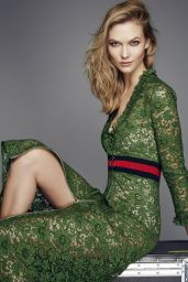 Karlie Kloss - Photo Shoot for ELLE UK February 2016