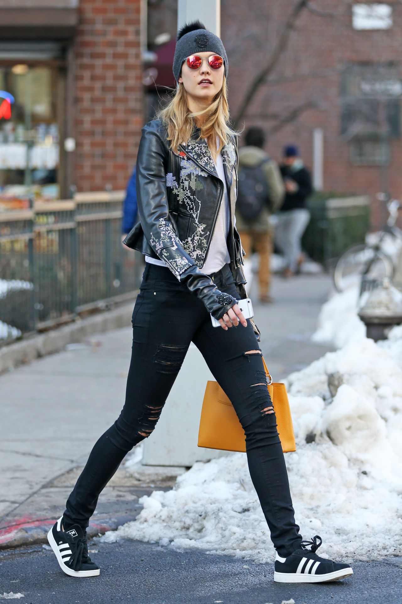 Karlie Kloss Street Fashion