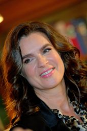 Katarina Witt - Presents Her New Photo Book in Berlin, December 2015