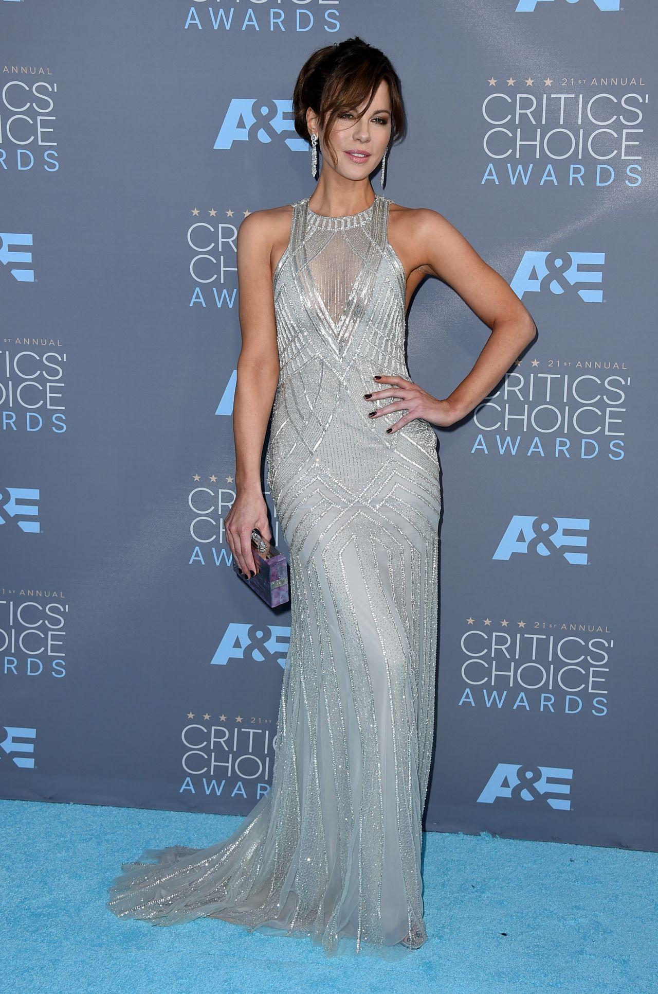 Kate Beckinsale – 2016 Critics' Choice Awards in Santa Monica