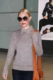 Kate Bosworth at Heathrow Airport in London 1/13/2016