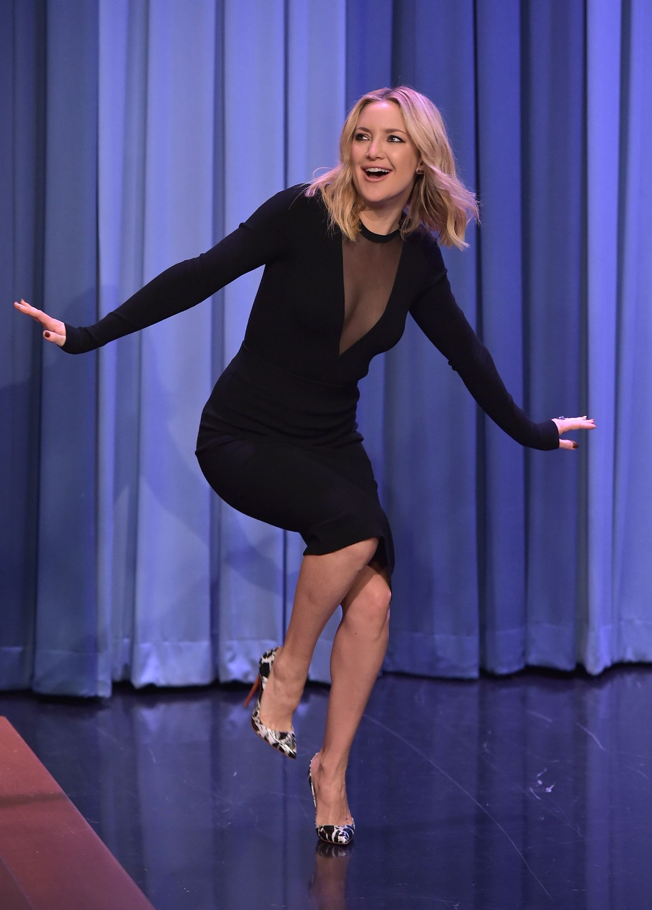 Kate Hudson Appeared on 'The Tonight Show Starring Jimmy