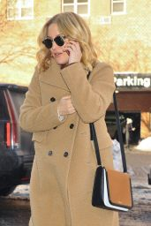 Kate Hudson Winter Style - Out in NYC 1/25/2016