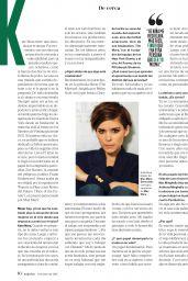 Kate Mara - Mujer Hoy Magazine January 2016 Issue