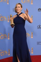 Kate Winslet - 73rd Annual Golden Globe Awards in Beverly Hills, Part II