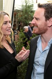 Kate Winslet and Michael Fassbender - Steve Jobs