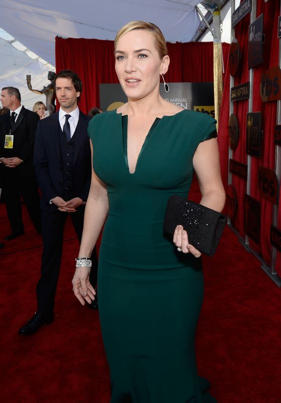 Kate Winslet – SAG Awards 2016 at Shrine Auditorium in Los Angeles