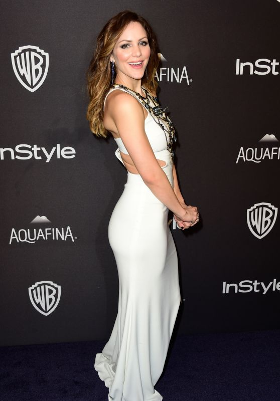 Katharine McPhee – InStyle And Warner Bros. 2016 Golden Globe Awards Post-Party in Beverly Hills