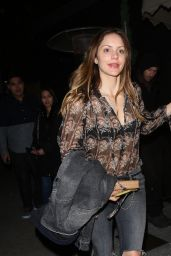 Katharine McPhee Night Out - Nice Guy in West Hollywood 1/24/2016