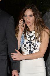 Katharine McPhee Style - Leaves the Chateau Marmont in West Hollywood 1/11/2016