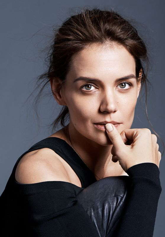 Katie Holmes - Photo Shoot for MORE Magazine February 2016