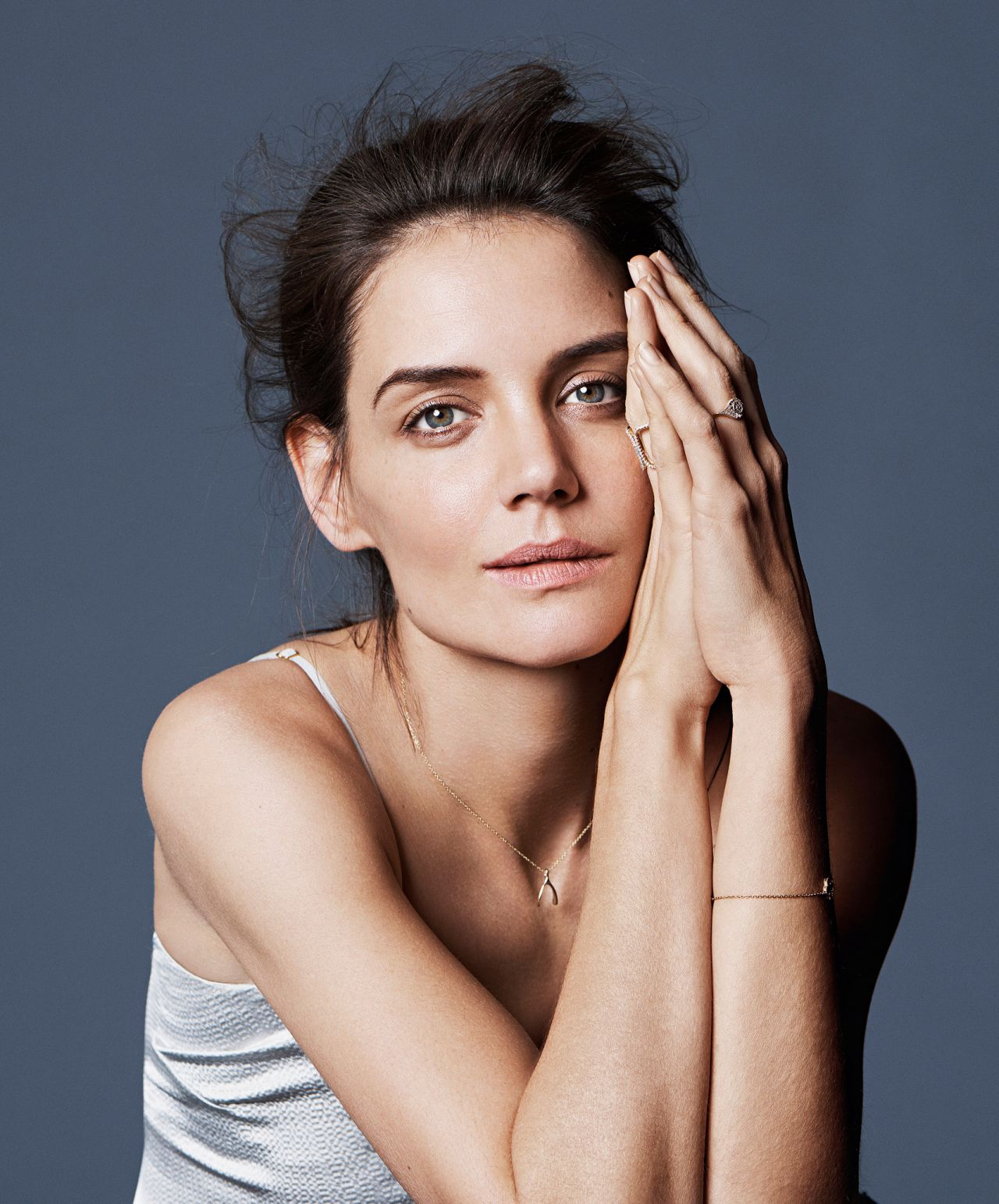 Katie Holmes - Photo Shoot for MORE Magazine February 2016 Katie Holmes Haircut