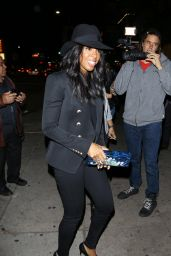 Kelly Rowland Night Out Style - at the Nice Guy in West Hollywood, January 2016