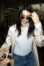 Kendall Jenner at LAX Airport 1/23/2016