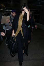 Kendall Jenner at LAX Airport, January 2016