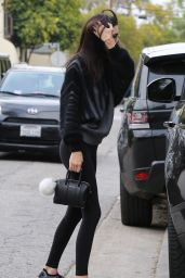 Kendall Jenner Booty in Tights - Out in Los Angeles 01/10/2016