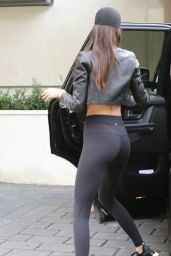Kendall Jenner Booty in Tights - Out in Malibu 01/16/2016