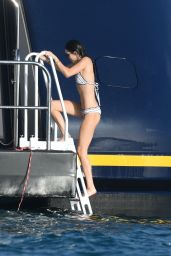 Kendall Jenner in a Bikini in St. Barts, January 2016
