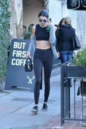 Kendall Jenner in Tights - Out in Beverly Hills, CA 1/8/2016