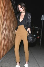 Kendall Jenner Night Out Style - Arriving at Nice Guy in West Hollywood, January 2016