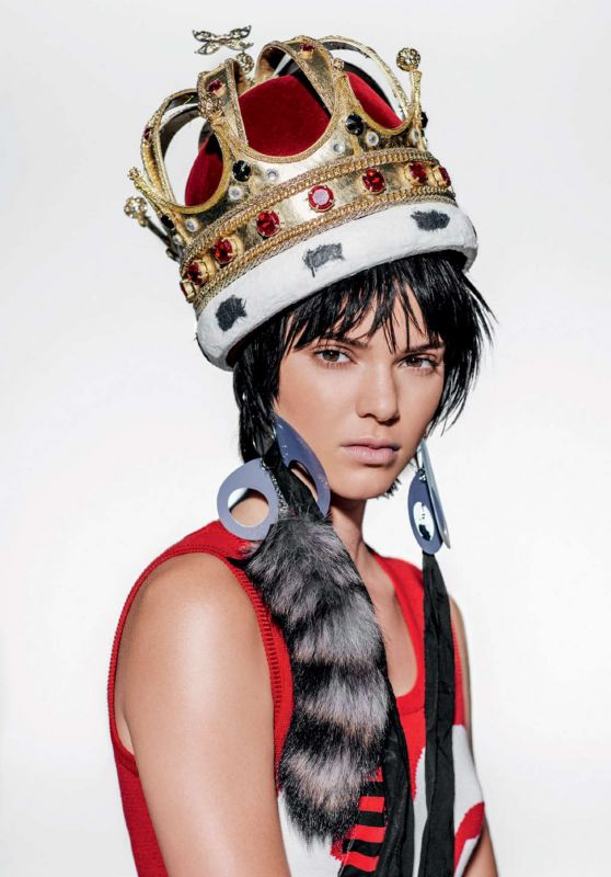 Kendall Jenner – Vogue Magazine UK January 2016 Photos