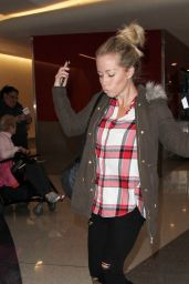 Kendra Wilkinson Airport Style - LAX in Los Angeles 1/20/2016