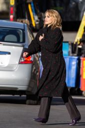 Keri Russell - On the Set of