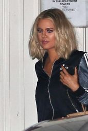 Khloe Kardashian - Outside of the Studio in Hollywood, 1/25/2016