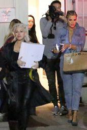 Khloe Kardashian Wearing Corn Rows - Leaving the Studio 1/27/2016