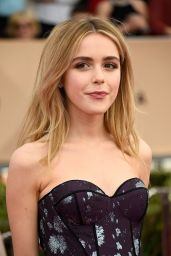 Kiernan Shipka – SAG Awards 2016 at Shrine Auditorium in Los Angeles