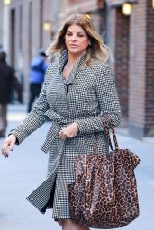 Kirstie Alley - Leaving The Today Show in New York City, January 2016