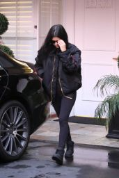 Kourtney Kardashian - Leaving Epione in Los Angeles, January 2016