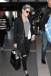 Kristen Stewart at LAX Airport 01/13/2016