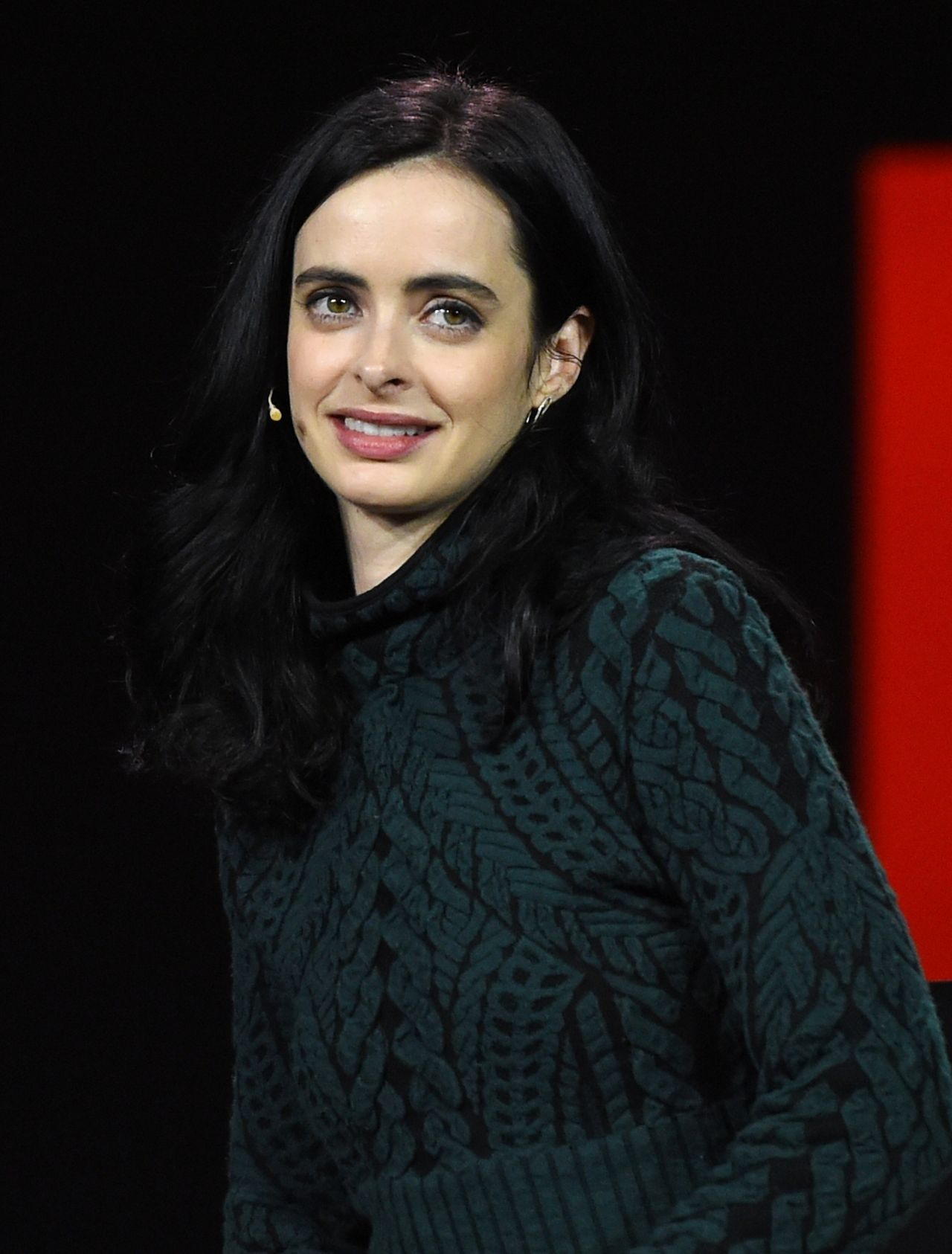 Krysten Ritter Cover: CES 2016 Netflix Panel/Q&A In Las Vegas