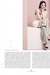 Krysten Ritter - MORE Magazine February 2016 Issue