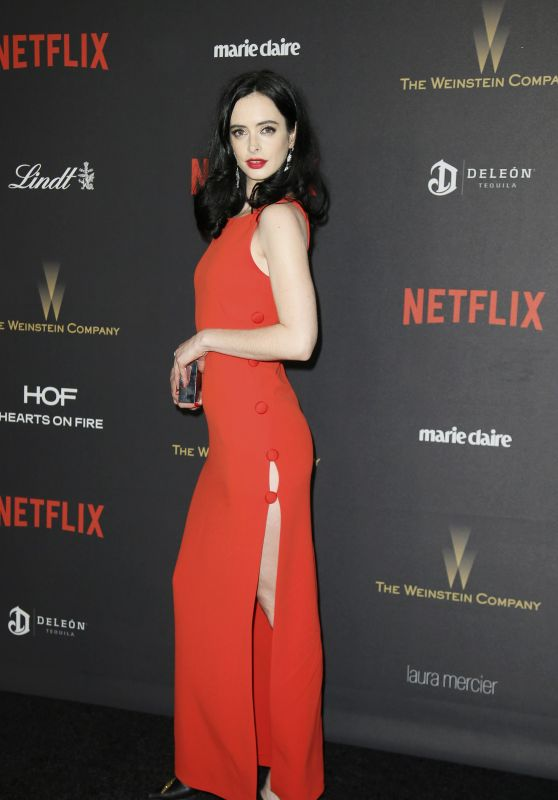 Krysten Ritter - The Weinstein Company & Netflix Golden Globe2016 After Party in Beverly Hills
