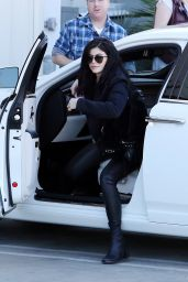Kylie Jenner - Arriving at the Studio in Hollywood 1/25/2016
